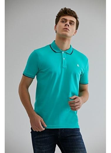 D'S Damat Regular Fit T-Shirt Yeşil
